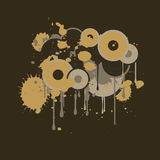 Vector grunge design element Royalty Free Stock Images