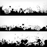 Vector grunge design elements Royalty Free Stock Photos
