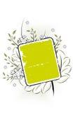 Vector grunge floral background Stock Images