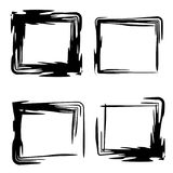 Vector grunge frames. Grunge frame.Grunge background.Abstract vector template Royalty Free Stock Images