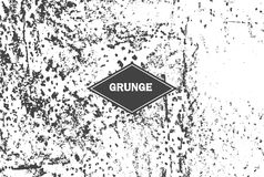 Vector grunge grainy background Royalty Free Stock Photos
