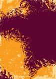 Vector grunge ink splash background Stock Photo