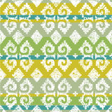 Vector grunge Mexican seamless pattern 4 Stock Images