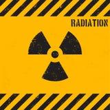 Vector grunge radiation background Royalty Free Stock Photo