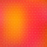 Vector grunge retro triangle  background Stock Photography
