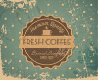 Vector grunge retro vintage background Royalty Free Stock Photo