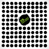 113 vector grunge round shapes. For designers and illustrators. Grunge background royalty free illustration