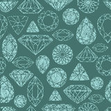 Vector grunge seamless pattern Stock Photos