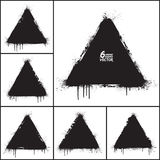 Vector Grunge Shapes Set Stock Image