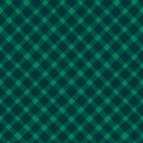 Vector grunge strokes criss cross seamless pattern on the green background. Royalty Free Stock Images