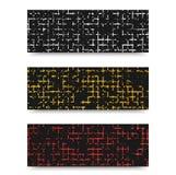 Vector Grunge template header design. Royalty Free Stock Photos