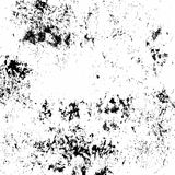 Vector grunge texture. White and black background Royalty Free Stock Images