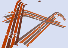 Vector grungeachtergrond Stock Afbeeldingen