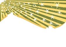 Vector grungeachtergrond met weinig ster Stock Afbeeldingen