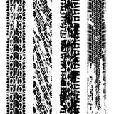 vector grungy bandaf:drukken stock illustratie