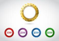 Vector guarantee sign Royalty Free Stock Photography
