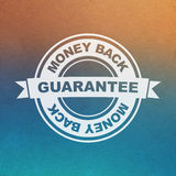 Vector guarantee sign Royalty Free Stock Photo