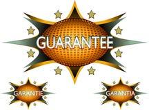 Vector - guarantee sticker icon Royalty Free Stock Photos