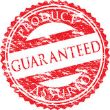 A vector guaranteed stamp Royalty Free Stock Image