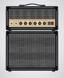 Vector Guitar Amplifier. Vector format is available. Easy to use and edit Royalty Free Stock Photography