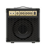 Vector Guitar Amplifier Stock Image