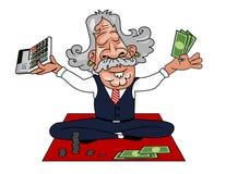 Vector - Guru como contable stock de ilustración