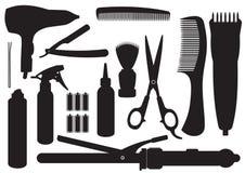 Vector Hairdressing Kit Stock Photos