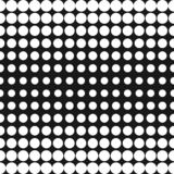 Vector half tone circles pattern. Halftone dots background. Vector half tone circles pattern. Halftone dots abstract monochrome background. Gradient transition stock illustration