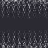 Vector halftone abstract background, black white gradient gradation. Geometric mosaic triangle shapes monochrome pattern Royalty Free Stock Photography