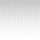 Vector halftone abstract background, grey white texture gradient gradation. Geometric mosaic triangle shapes monochrome. Pattern. Simple backdrop design Royalty Free Stock Photography