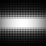 Vector halftone background . Royalty Free Stock Photography