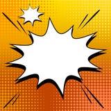 Vector halftone comic book style background Stock Photos