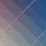 Vector halftone dot pattern Stock Photography