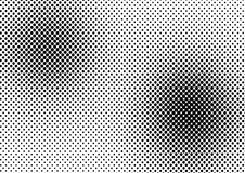 Vector halftone dots Stock Images