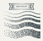 Vector halftone dots abstract business grey. Halftone wave Background with black Dots. Abstract geometric modern background. Vector illustration. Polka dots Stock Image