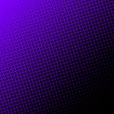 Vector halftone dots background. Black dots on gradient background royalty free illustration