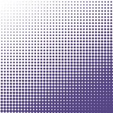 Vector halftone dots background. Ultra violet dots on white background. Vector halftone dots background.  Ultra violet dots on white background Royalty Free Stock Photography