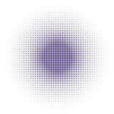 Vector halftone dots background. Ultra violet dots on white background. Vector halftone dots background.  Ultra violet dots on white background Royalty Free Stock Image
