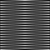 Vector halftone dots - black and white Royalty Free Stock Images