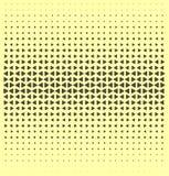Vector halftone dots. Royalty Free Stock Photos