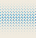 Vector halftone dots. Stock Photography