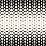 Vector halftone geometric seamless pattern with diamond shapes. Royalty Free Stock Photo