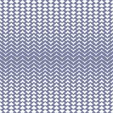 Vector halftone mesh seamless pattern with curved zigzag lines. stock illustration