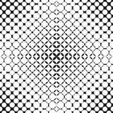 Vector halftone naadloos patroon met geperforeerde oppervlakte, cirkels, punten Royalty-vrije Stock Afbeelding