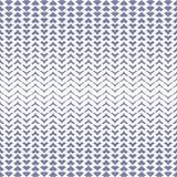 Vector halftone netwerk naadloos patroon met gebogen zigzaglijnen Royalty-vrije Stock Afbeeldingen