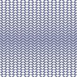 Vector halftone netwerk naadloos patroon met gebogen zigzaglijnen Royalty-vrije Stock Foto's