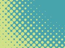 Vector halftone patroon Royalty-vrije Stock Afbeelding