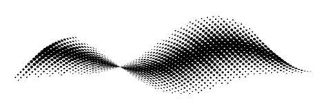 Vector halftone patroon vector illustratie