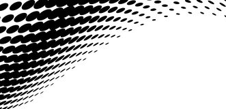 Vector halftone pattern Royalty Free Stock Images