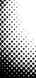 Vector halftone pattern stock illustration